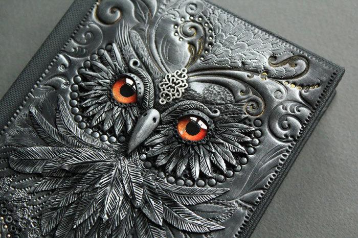 Шикарные блокноты от Aniko Kolesnikova.