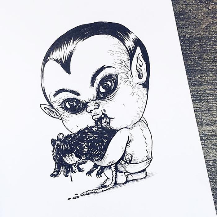Малыш Дракула.