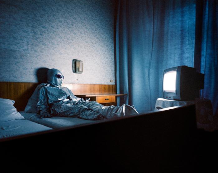 Инопланетяне в спальне.