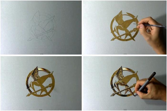Некоторые моменты процесса создания гипер-реалистичного изображения.
