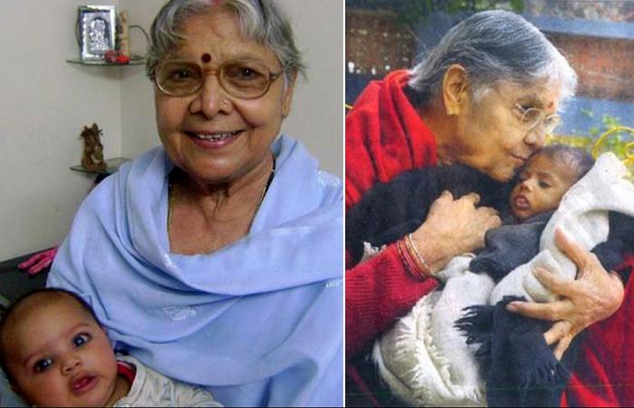 Индийская женщина стала матерью для 800 девочек.