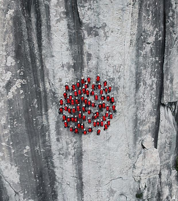 Фотограф Роберт Бош тоже является профессиональным альпинистом.