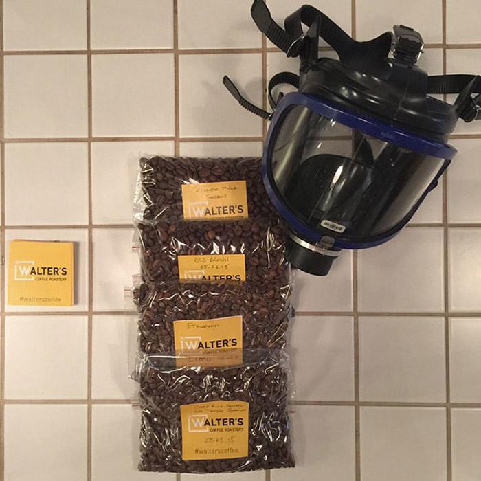 Кофе от Уолтера.