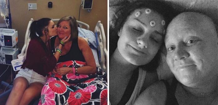 У мамы Элли также диагностирован рак - рак груди.