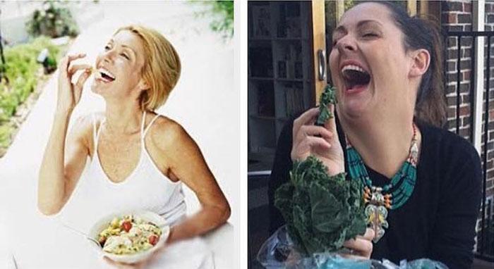 До чего ж смешной этот салат, ребятки!  Instagram celestebarber.