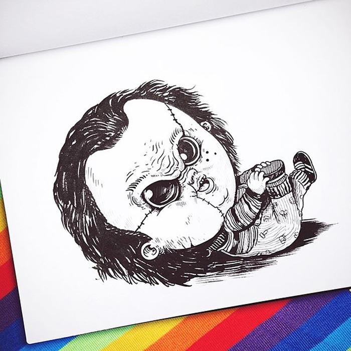 Малыш Чаки.