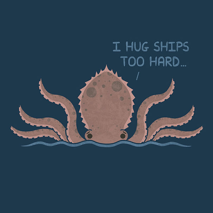 Я обнимаю корабли слишком крепко.