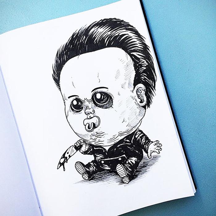 Малыш Майкл Майерс.