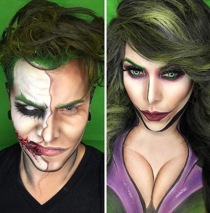 Джокер - мужской и женский вариант.