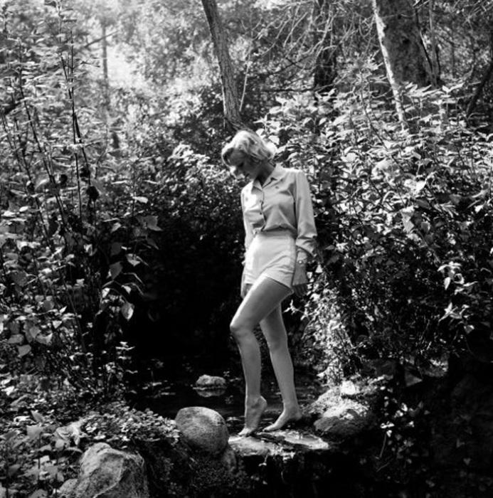 Фотосессия в лесу.