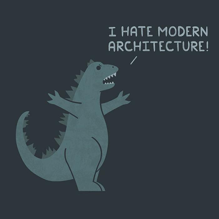 Я ненавижу современную архитектуру!