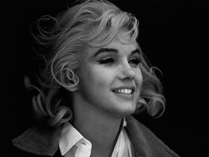 Самая знаменитая блондинка.  Автор фото: Eve Arnold.