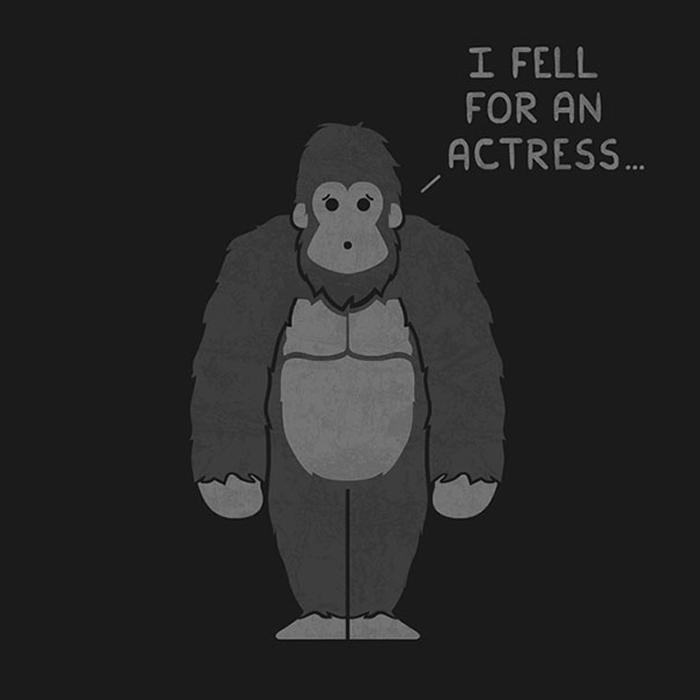 Я влюбился в актрису.