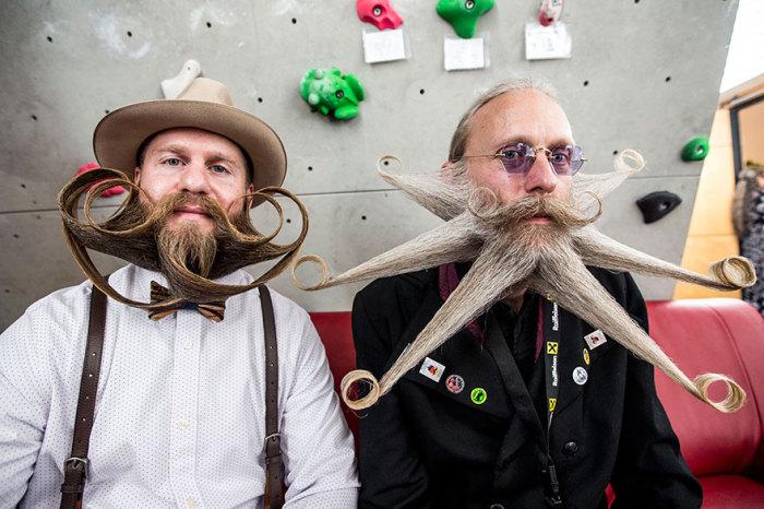 Участники чемпионата усов и бород 2015.
