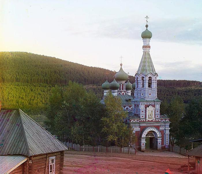 Церковь в селении Ветлуга.