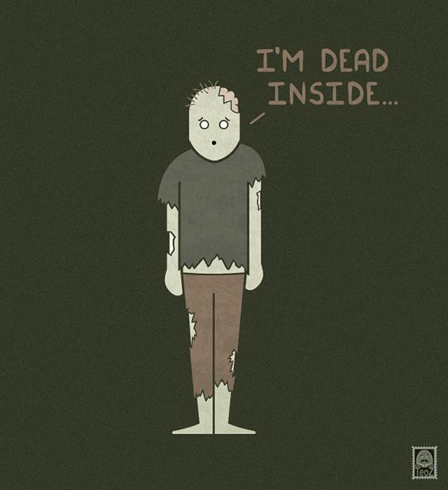 Внутри я мертвый...