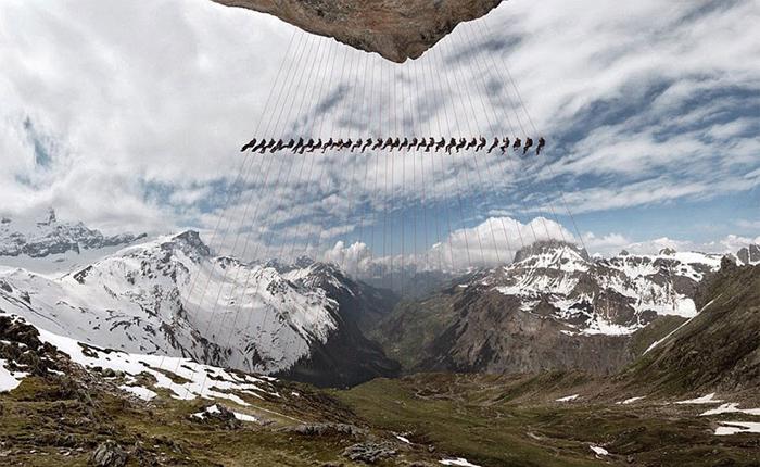 Эпическая фотосерия снимков в Альпах.