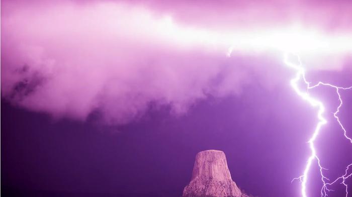 Великолепное видео непогоды с просторов Америки.