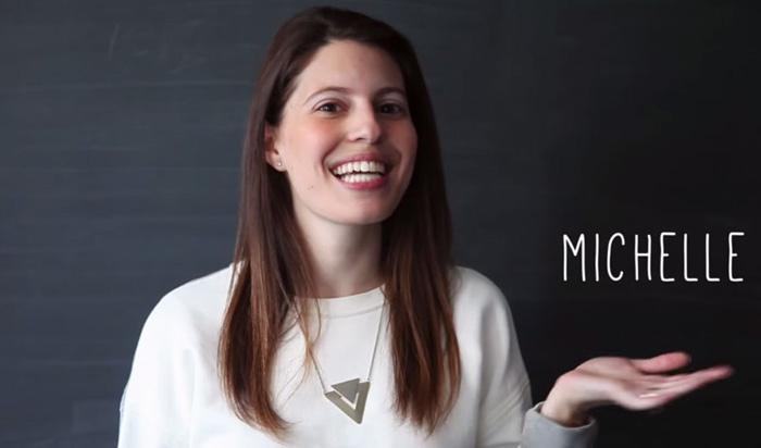 Мишель Полер и ее проект *100 дней без страха*.
