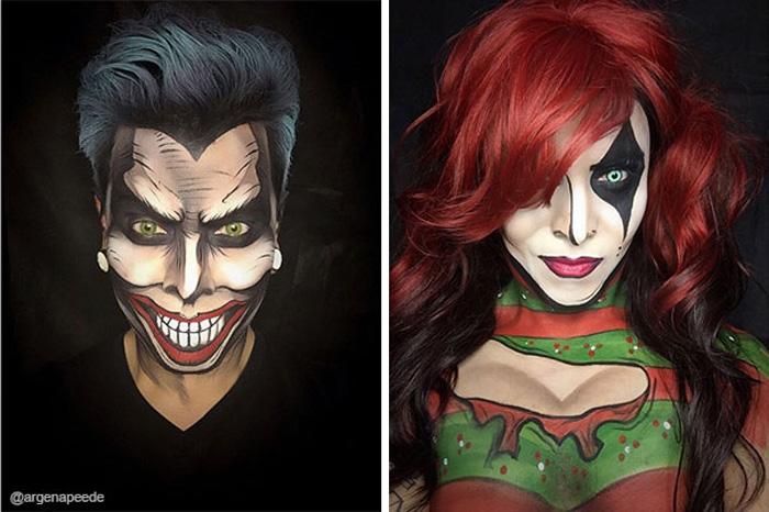 The Joker и Harley Quinn.