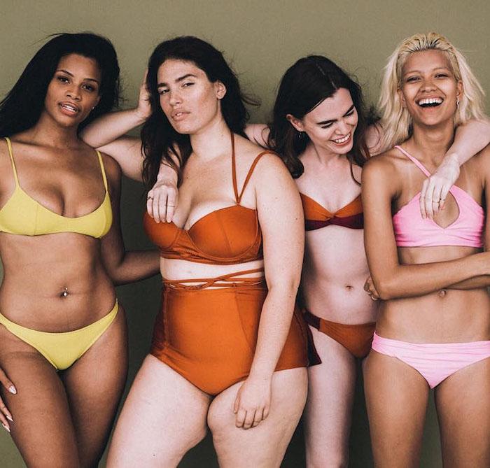 В индустрии моды, так же как и на телевидении, женщины представлены почти всегда только *модельного вида*.