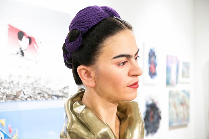 Мексиканская художница.  Автор: Kazuhiro Tsuji.