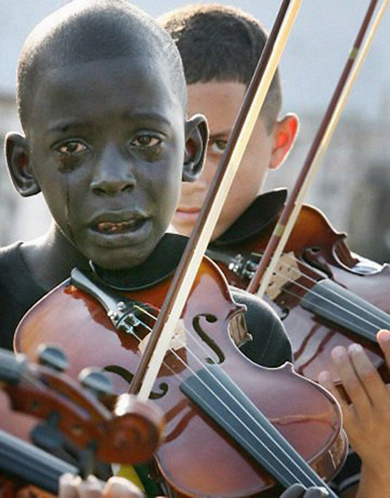 Сила музыки и чувств.