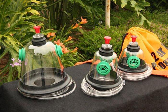 Специальные кислородные маски для животных.