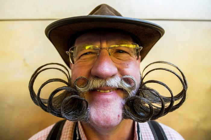 Удивительный дизайн бород.