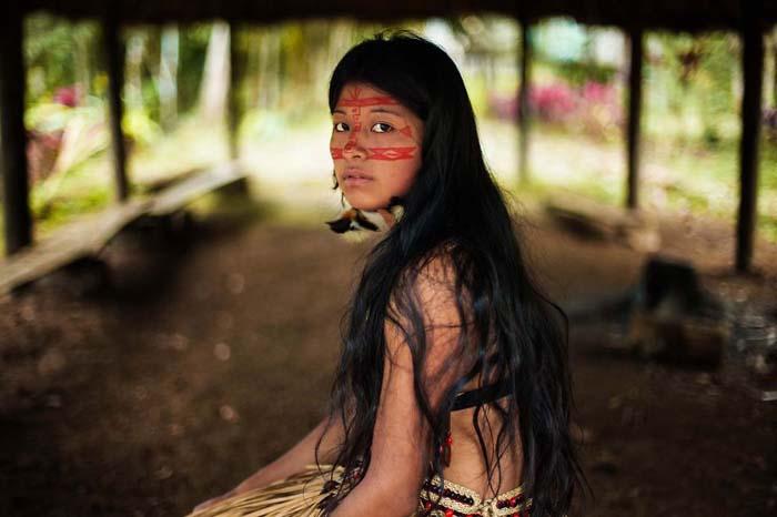 Амазонские джунгли.