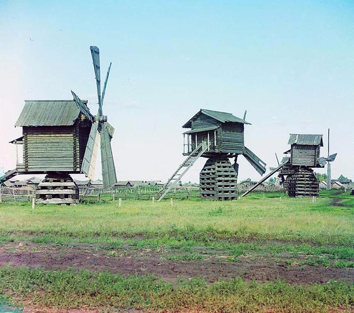 Мельницы в Ялуторовском уезде Тобольской губернии.
