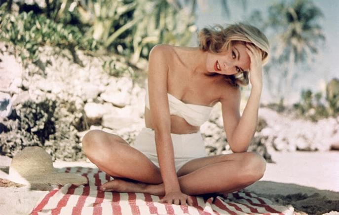 Великолепная Грейс Келли, княгиня Монако.