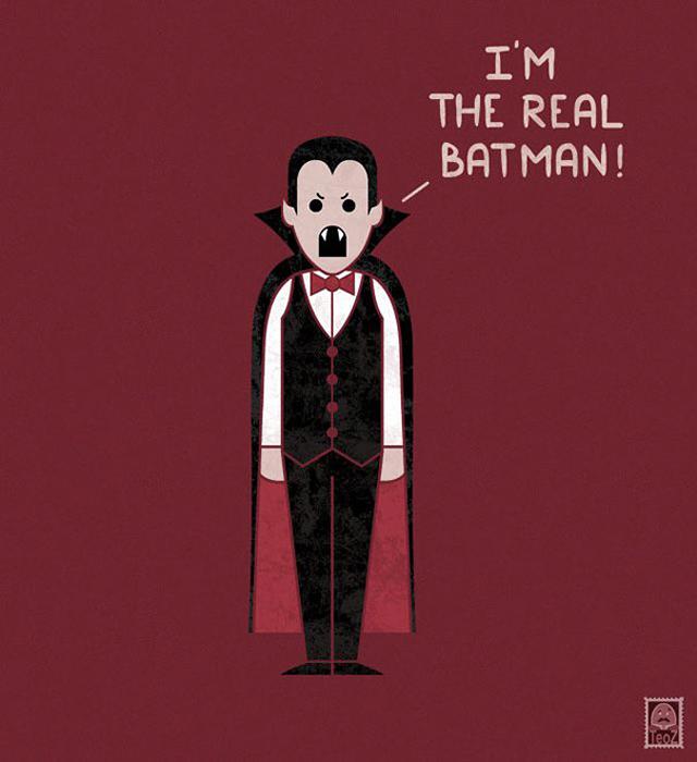Это я настоящий бэтмен!
