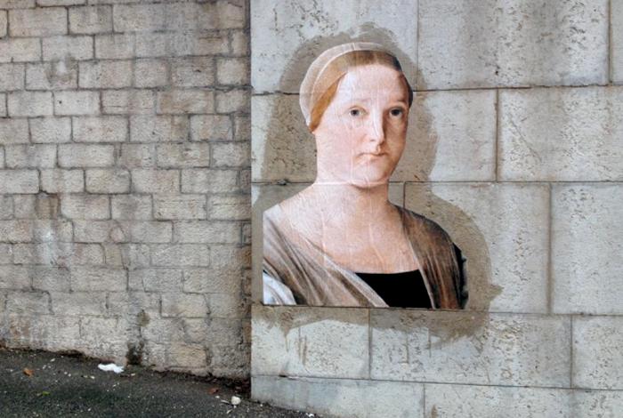 Дижон, Франция. Портрет из Художественного музея.