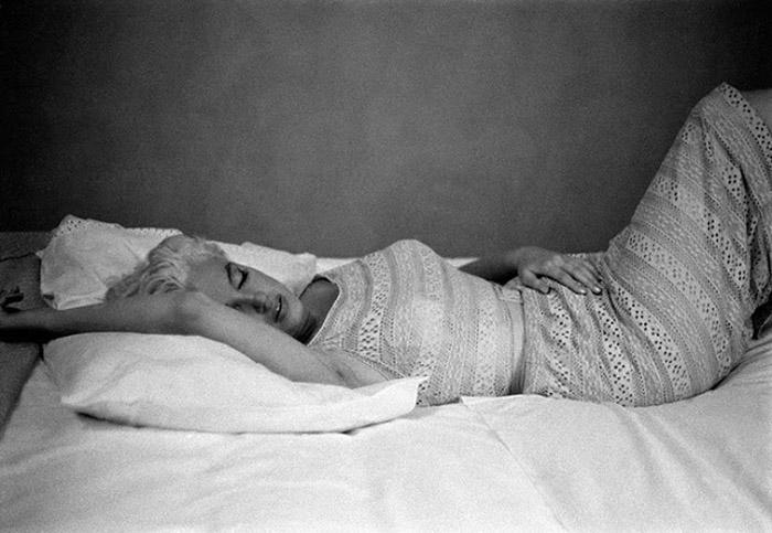 Мэрилин Монро в объективе Ив Арнольд.