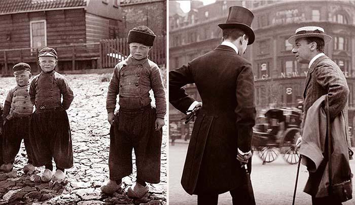 Фотографии Европы в 1904 году.
