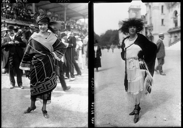 Мода Парижа в 1910 году.
