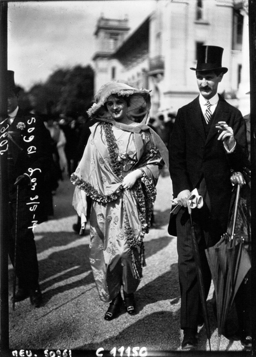 Мода в Париже 1914 г.