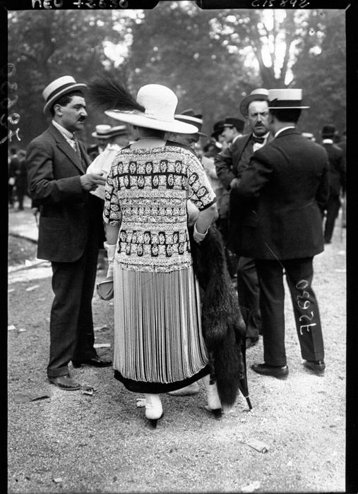 Мода в Париже 1919г.