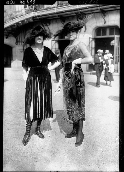 Париж в 1919г.