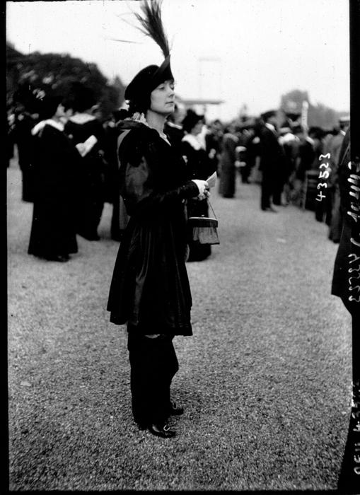 Многослойный наряд. 1913г.