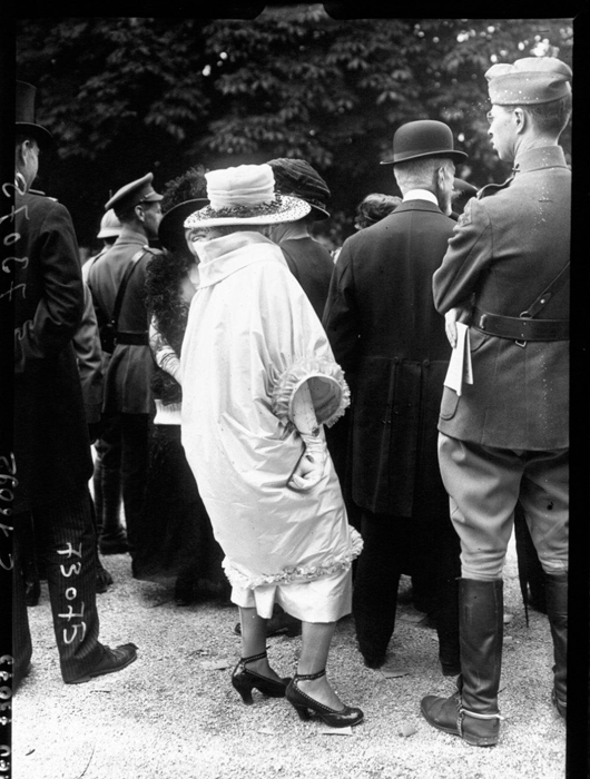 Женский наряд. Париж, 1919г.