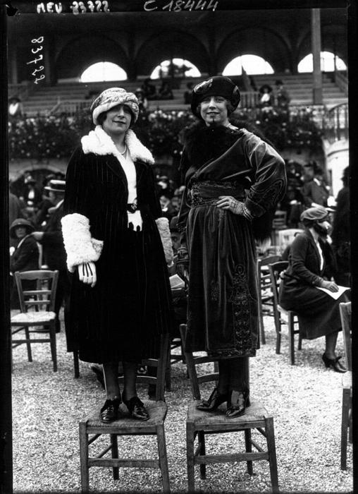 Модницы Парижа. 1920г.