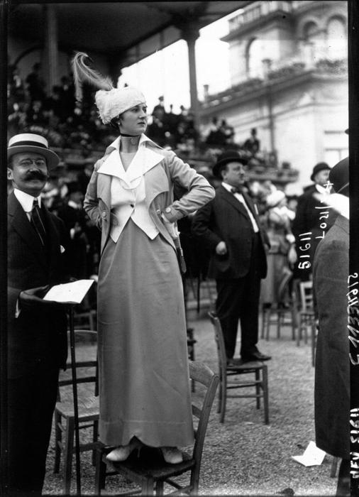 Мода в Париже 1914г.