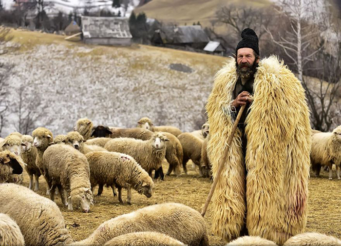 «The Shepherd From Transylvania». Фото: Эдуард Гутеску.