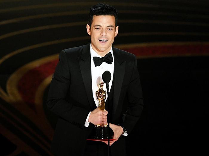 Рами Малек получил награду Оскар за исполнение роли Фредди Мерьюри.