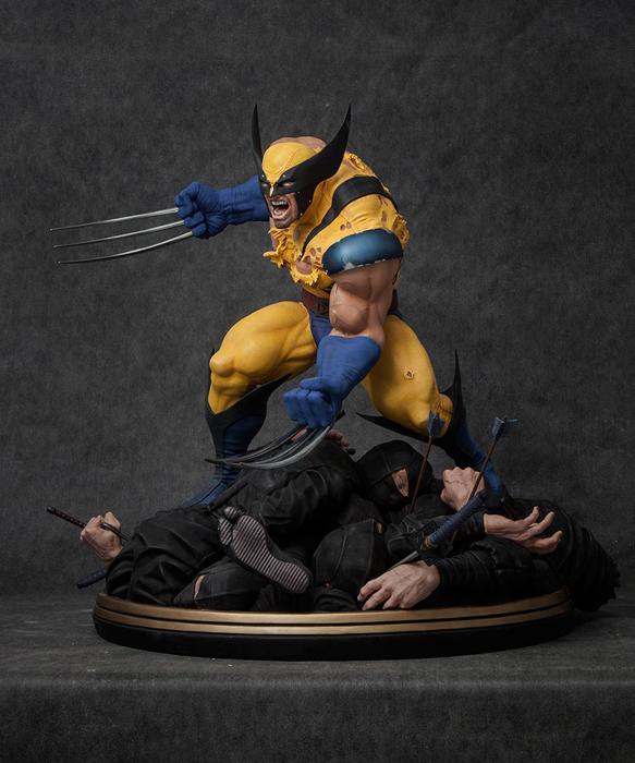 Высоко детализированная статуэтка была напечатана на 3D-принтере.