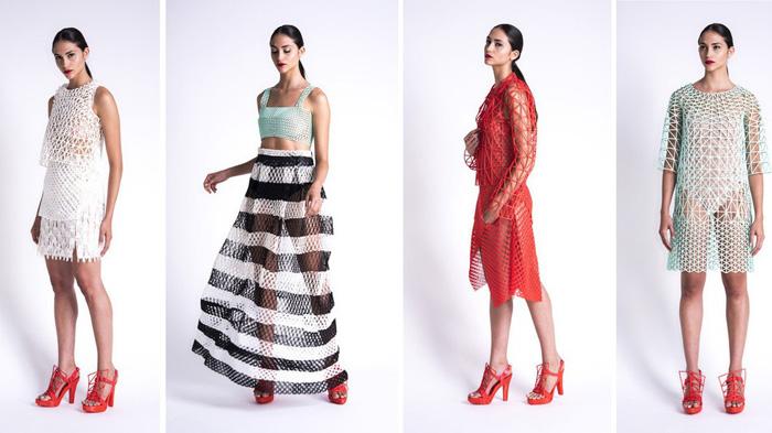 Одежда от Danit Peleg, напечатанная на 3D-принтере.
