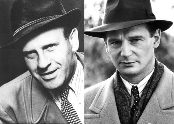 Оскар Шиндлер и Лиам Нисон.