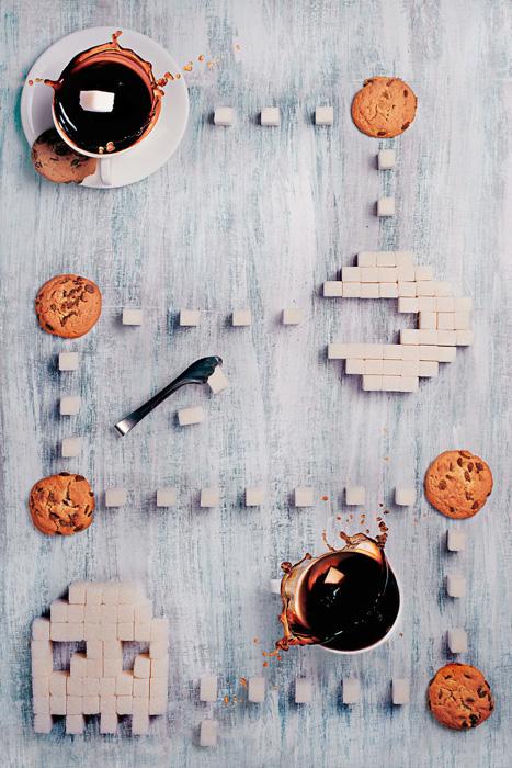 Восьмибитный завтрак: Пакман. Автор фото: Dina Belenko.